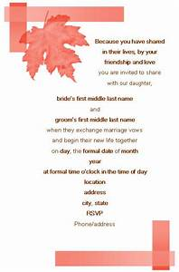 wording for wedding invitations template best template With wedding day invite wording templates