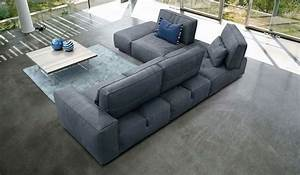 soho sectional sofa gamma arredamenti cadomoderncom With gamma leather sectional sofa