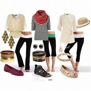 How to dress up yoga pants | FASHION | Pinterest ...