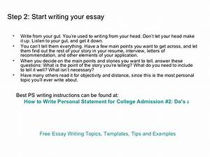How To End A Personal Statement Assignments Writing Services How To