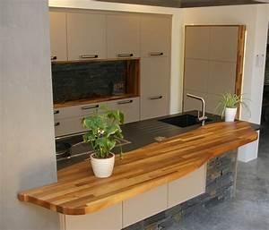 Plan De Travail Cuisine En Bois : plan de travail en bois flip design induscabel salle de bains chauffage et cuisine ~ Melissatoandfro.com Idées de Décoration