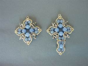 Free Beading Pattern For Tudor Cross Pendant