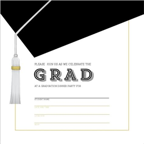 graduation invitation templates template lab