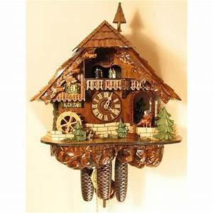 Romach und Haas Cuckoo Clock with Clockpeddler - 8 Day