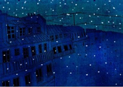 Starry Gifs Nights Poetic Yule Happy Poetry