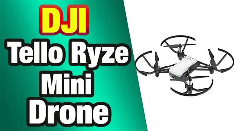 Check spelling or type a new query. DJI Tello Ryze - Mini Drone Ideal for Short Videos with EZ ...