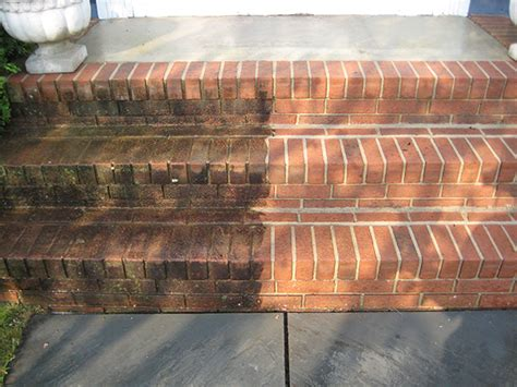 Painting Exterior Brick Steps