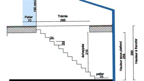 schema pour fabriquer un escalier