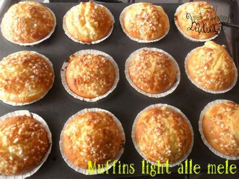 muffins light alle mele gusto in poche calorie cucinare