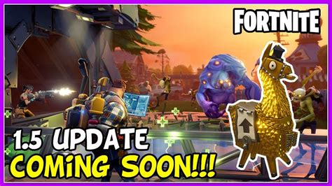 fortnite update  update coming   event
