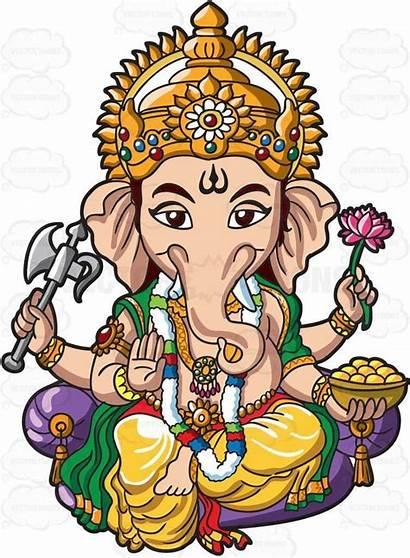 Hindu Clipart Ganesha Ganesh Lord Deities Clip