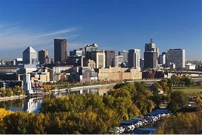 Minnesota Paul St Cities Minneapolis Skyline Twin