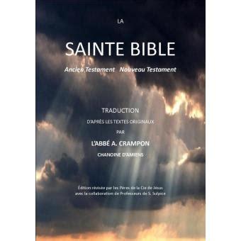la sainte bible ancien testament nouveau testament epub