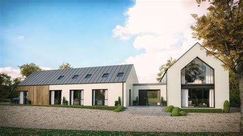 modern house  straffan approved  images house designs ireland house exterior barn