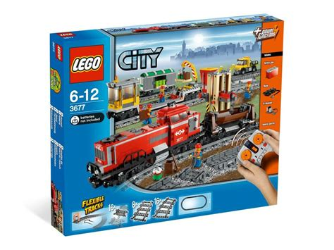 Lego 3677 Red Cargo Train ...this Is A Australia Box Set