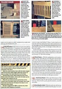 Cube Chair Plans • WoodArchivist