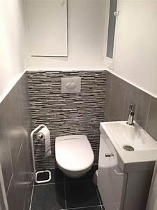 Modele De Wc : best modele carrelage wc contemporary amazing house ~ Premium-room.com Idées de Décoration