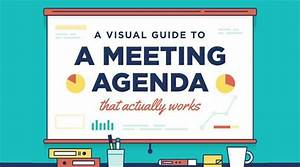 Infographic  U2013 A Visual Guide To A Meeting Agenda That