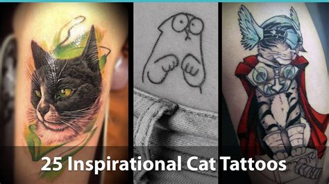 25 Inspiring Kitty Tattoo Designs For Cat Lovers