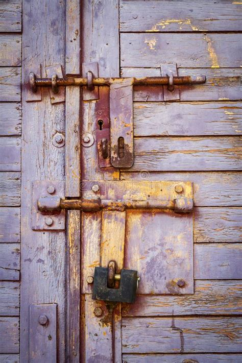 wooden plank door stock image image  design grunge