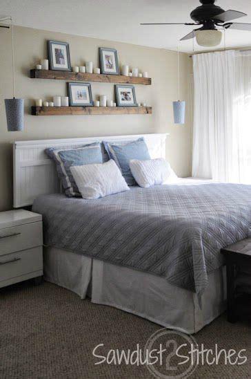 shelves  headboard shelves  bedroom floating