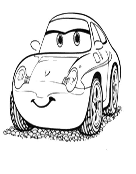disegni da colorare di cars saetta cars da colorare e stare gratis