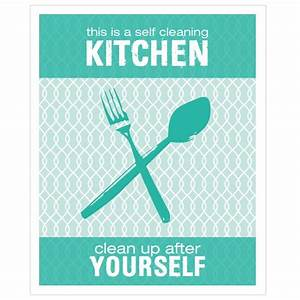 Funny Kitchen Cleaning Quotes - funny quotes