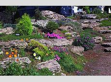 Backyard Landscaping With Sloping Yards Large boulders