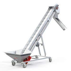 tapis transporteur de vendange tc30 4m de pmh vinicole With tapis elevateur a bande