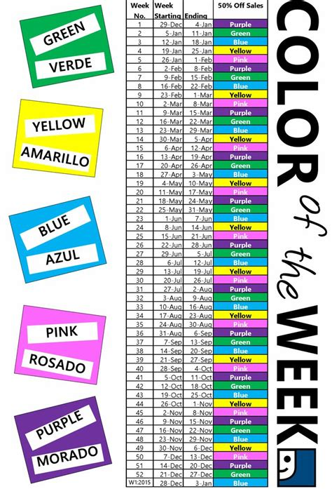 goodwill tag colors goodwill ncw color of the week home