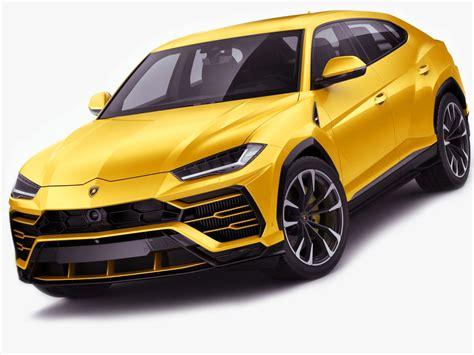 Lamborghini Urus 2019 3d Model  Turbosquid 1253488