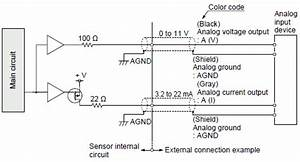 Compact Laser Displacement Sensor Hl O Circuit And