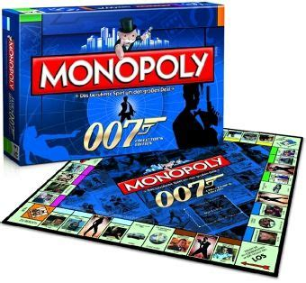 bond spiele monopoly spiel bond 007 collector s edition