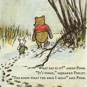 Winnie the Pooh... Disney Rude Quotes