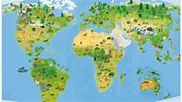 翻轉‧動物大地圖:一邊學一邊玩的折疊地圖書中書 - YouTube
