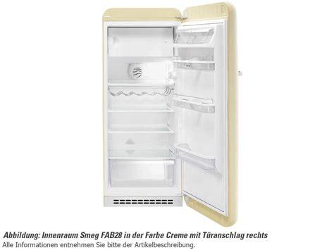 Smeg Kühlschrank Innen smeg fab28rx1 stand k 252 hlschrank polarsilber metallic f 252 r