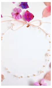 Simply Beautiful. Blush Pink Pearl Bridal Halo - Victoria ...
