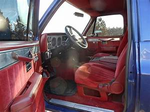 1990 Chevrolet Blazer - Interior Pictures