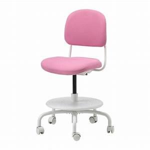 Chaise Bureau Rose : vimund chaise de bureau enfant rose ikea ~ Teatrodelosmanantiales.com Idées de Décoration