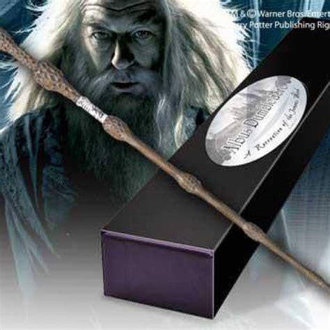 harry potter 2 et la chambre des secrets réplique baguette harry potter albus dumbledore