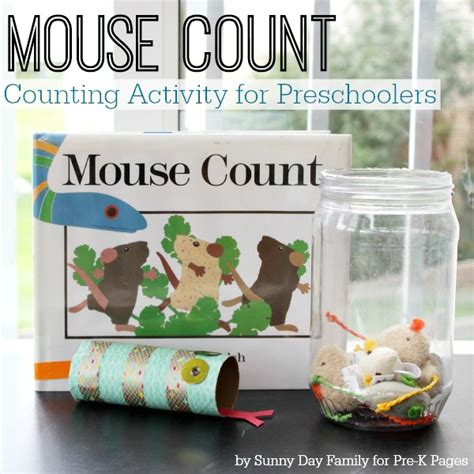 20 ways to learn how to count 717 | Mouse Count Activity 600