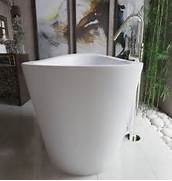 Freestanding Stone Bathtubs by Aquatica True Ofuro Freestanding Stone Japanese Soaking Bathtub