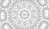 Coloring Mosaic Pages Pattern Getcoloringpages sketch template