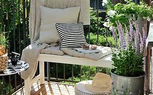 un balcon plein de charme shake my blog With idee pour jardin exterieur 8 des idees deco pour votre balcon shake my blog
