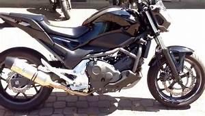 Honda Nc 700 : honda nc 700 s sound con marmitta leovince evo ii exhaust ~ Melissatoandfro.com Idées de Décoration