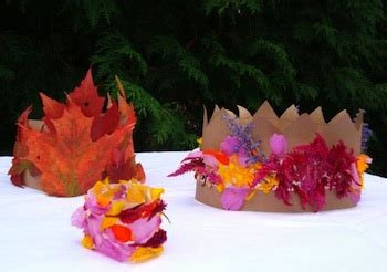 nature crowns cuffs      crafts