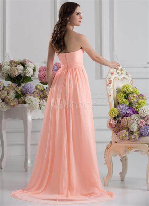 empire du mariage 10eme robe de soir 233 e taille empire en chiffon et satin