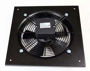 Commercial Extractor 250mm Duct Suction Axial Plate Fan