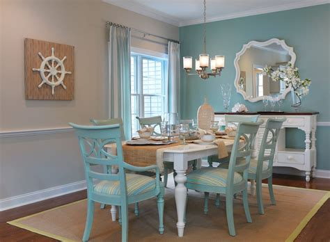 blue dining room table blue accent wall dining room dining room transitional with