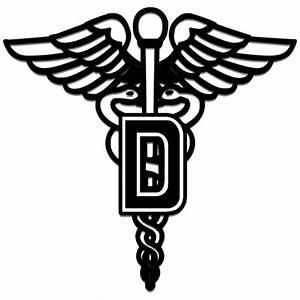 Dental medical caduceus logo symbol clipart image ...